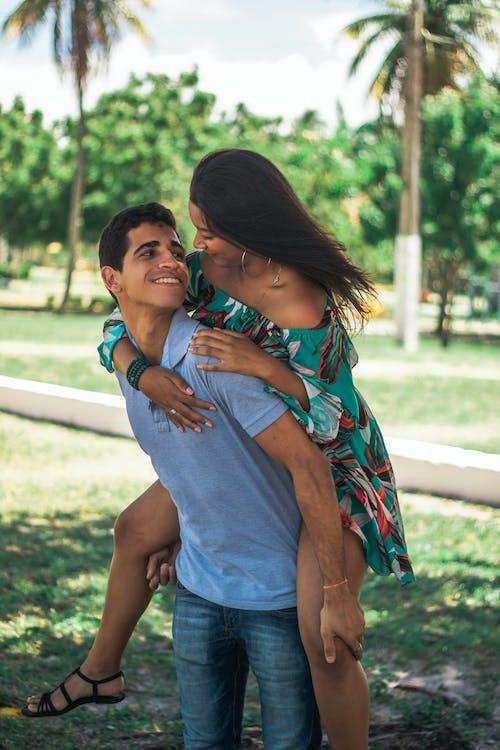 brazilský pár, denní světlo, dvojice