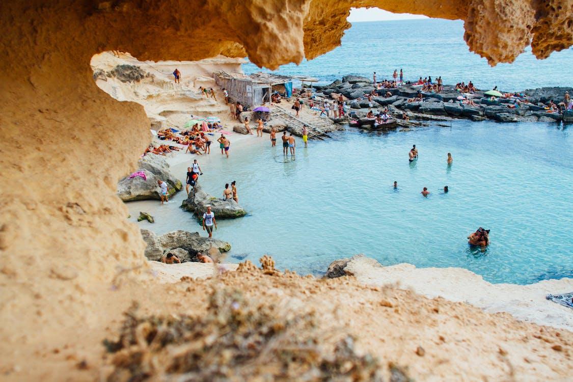 ocean coast in Spain