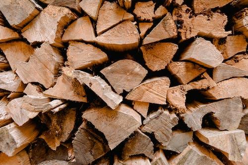Gratis stockfoto met bergen, brandhout, brandstapel, close-up