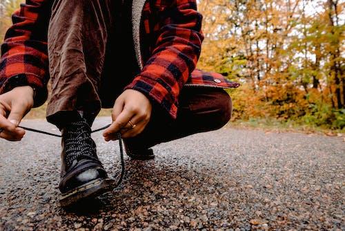 Immagine gratuita di autunno, cadere, calzature, escursionismo