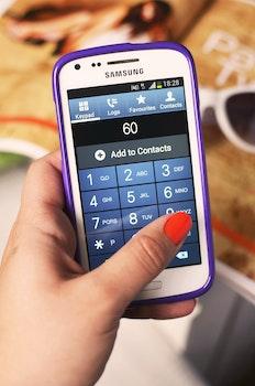 Free stock photo of hand, smartphone, technology, app