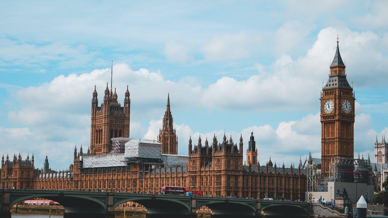 Palácio De Westminster E Big Ben, Londres, Inglaterra