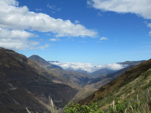 Free stock photo of calm, cloud, mountain