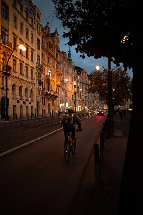 불빛, 역사적인 중심지, 프라하의 무료 스톡 사진
