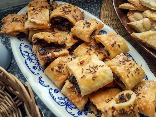 Foto profissional grátis de alcaravia, biscoitos, cogumelos, cominho