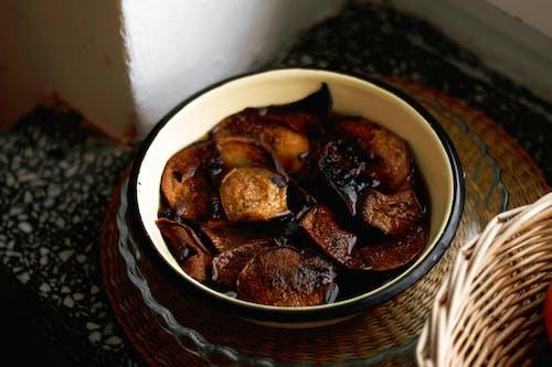 Foto profissional grátis de bacia, cogumelos, declínio, laranja