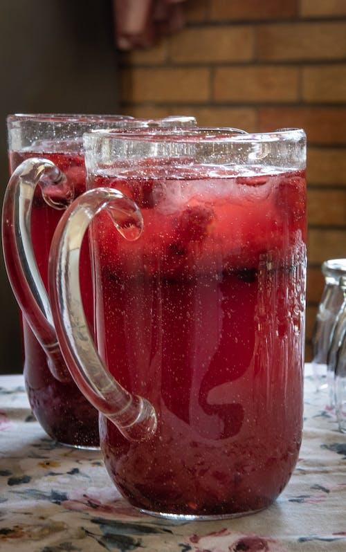 Immagine gratuita di bicchiere, bicchieri, brocche, estate