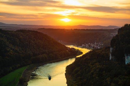 Foto profissional grátis de água, Alemanha, alvorecer, ao ar livre