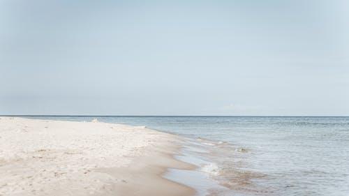地平線, 寧靜, 岸邊, 水 的 免费素材图片