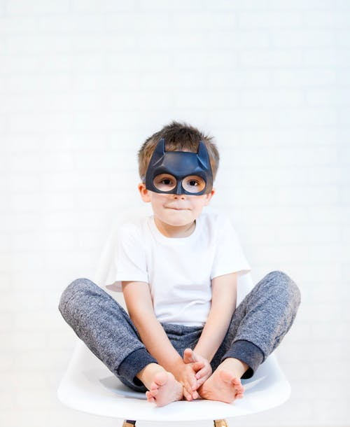 Photo Of Boy Wearing Mask