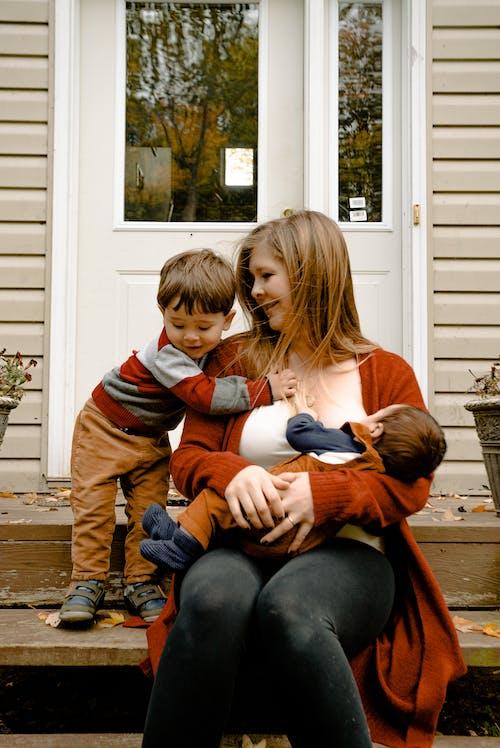 Foto Van Moeder Met Haar Kind