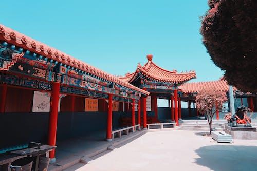 Immagine gratuita di architettura, Architettura asiatica, architettura cinese, colori