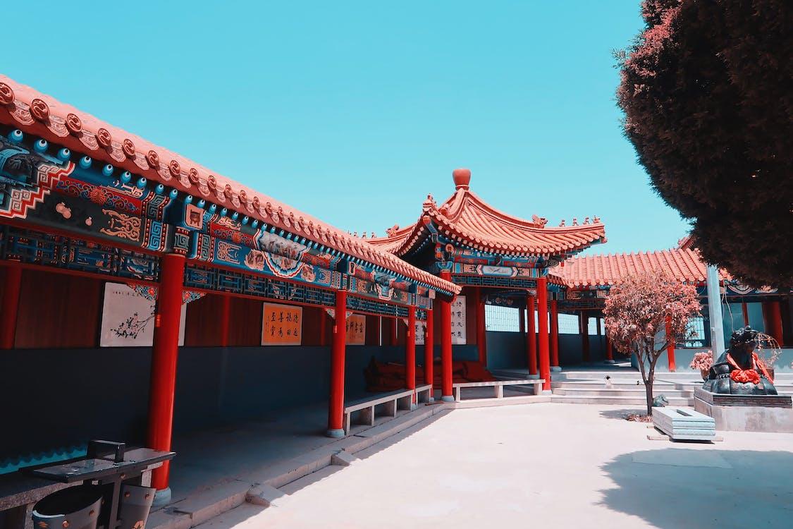 αρχιτεκτονική, αρχιτεκτονικό σχέδιο, Ασιατική αρχιτεκτονική