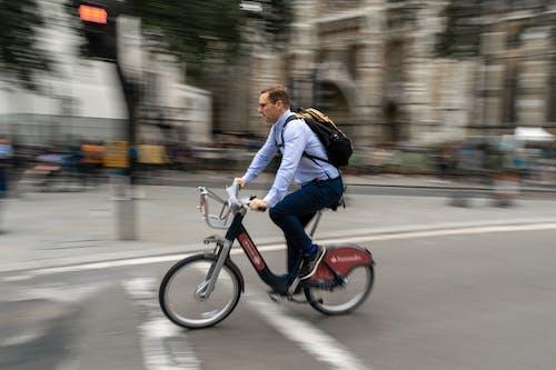 Gratis stockfoto met brommerrijder, centraal londen, centrum, fietsen