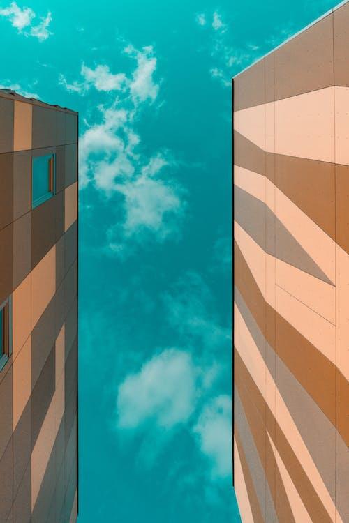 Ingyenes stockfotó absztrakt, alakzatok, ég, építészet témában