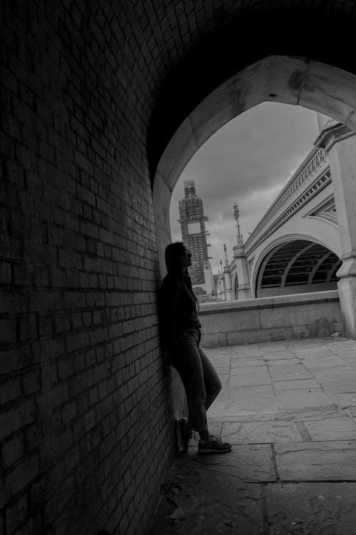 Big Ben, gölgeler, İngiltere, KADIN içeren Ücretsiz stok fotoğraf