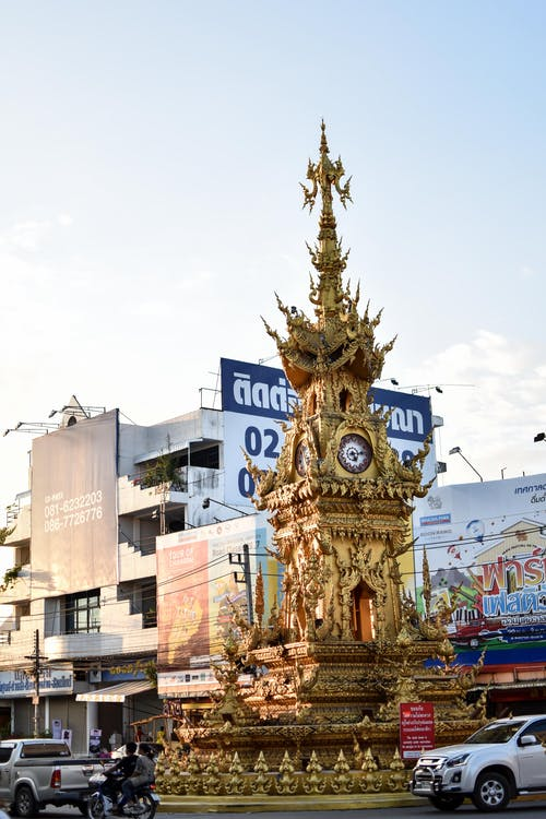 Foto d'estoc gratuïta de Àsia, chiang rai, ciutat, daurat