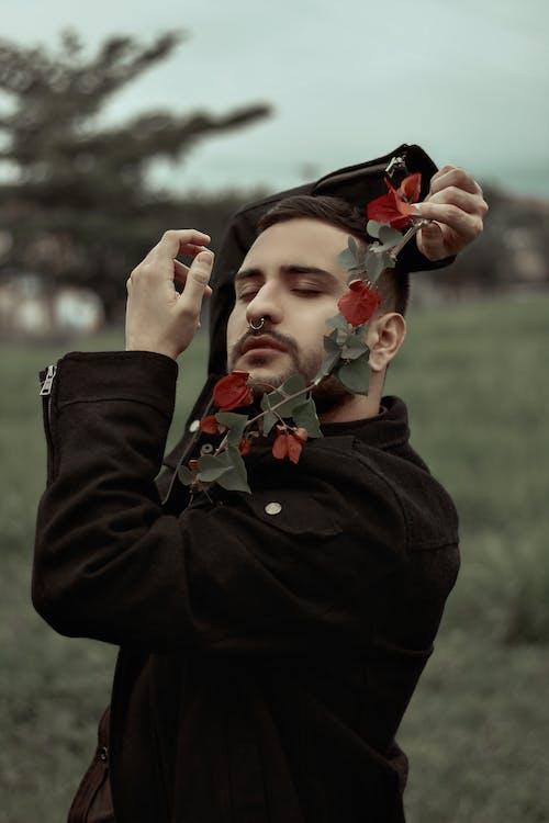 Ingyenes stockfotó álló kép, Férfi, növényvilág, személy témában