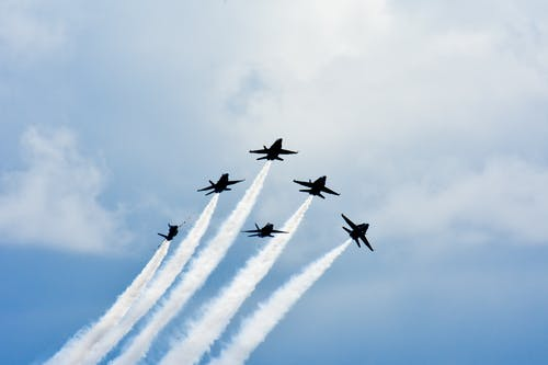 Free stock photo of air show, airshow, america, aviation