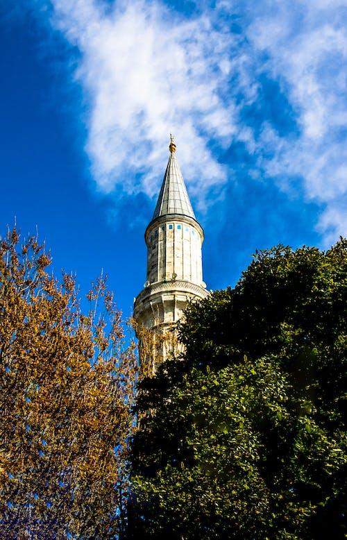 一座清真寺, 伊斯坦堡, 伊斯蘭, 伊斯蘭教 的 免费素材照片
