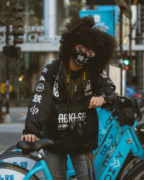 Fotos de stock gratuitas de afro, al aire libre, bici, bicicletas
