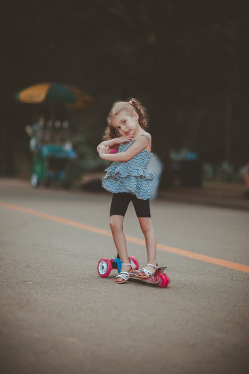 Immagine gratuita di adorabile, bambino, carino, carrello