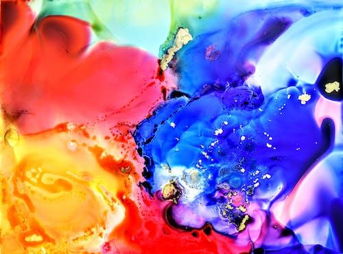 Kostnadsfri bild av abstrakt konst, målning, prismatisk, regnbåge konst