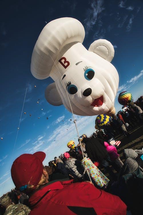 albuquerque, balon, balon fiesta, çizgi film içeren Ücretsiz stok fotoğraf