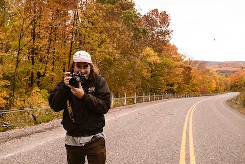 Gratis lagerfoto af asfalt, digitalkamera, efterår, falde