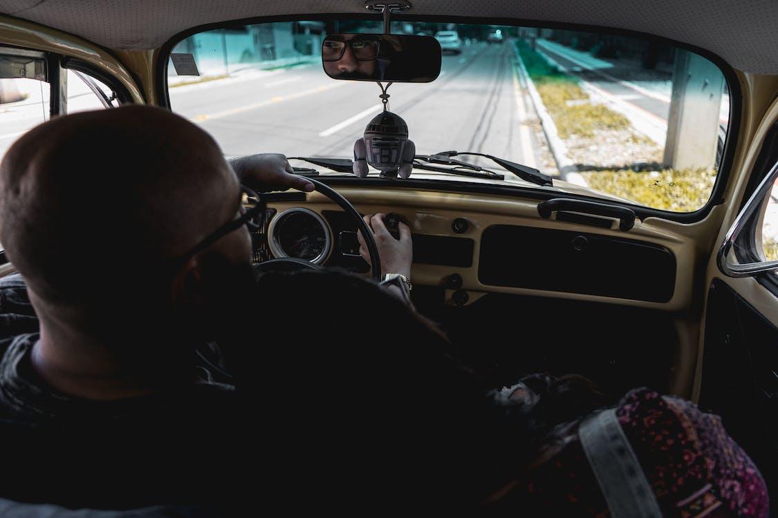conducció, conduint, cotxe