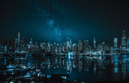 4k 桌面, 反射, 城市, 城市之夜 的 免費圖庫相片