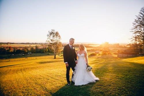 Foto d'estoc gratuïta de a l'aire lliure, afecte, amor, boda