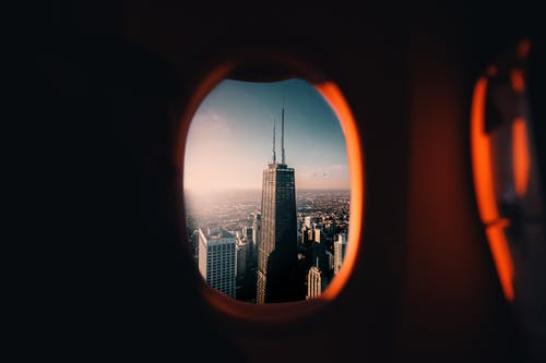 Looking Through a Aircraft Window