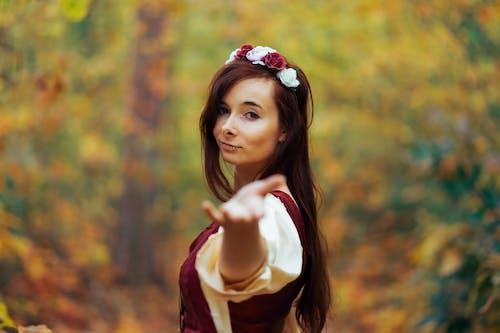 Free stock photo of autumn color, fantasy, female