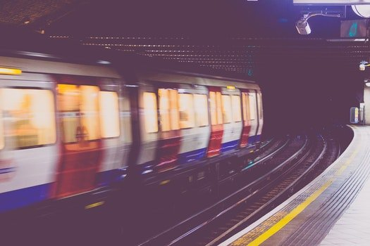 Free stock photo of train, tunnel, blur, motion