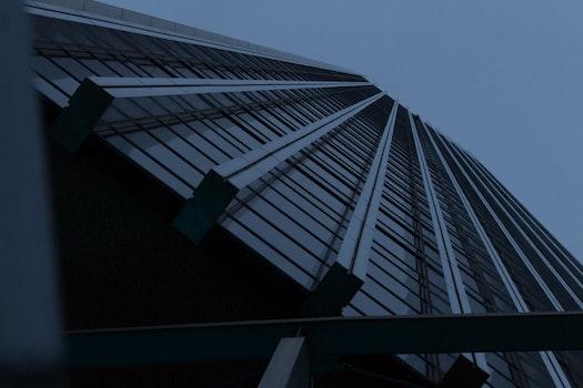 Free stock photo of city, dawn, sky, building