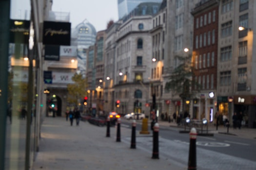 Free stock photo of city, vehicles, sky, lights