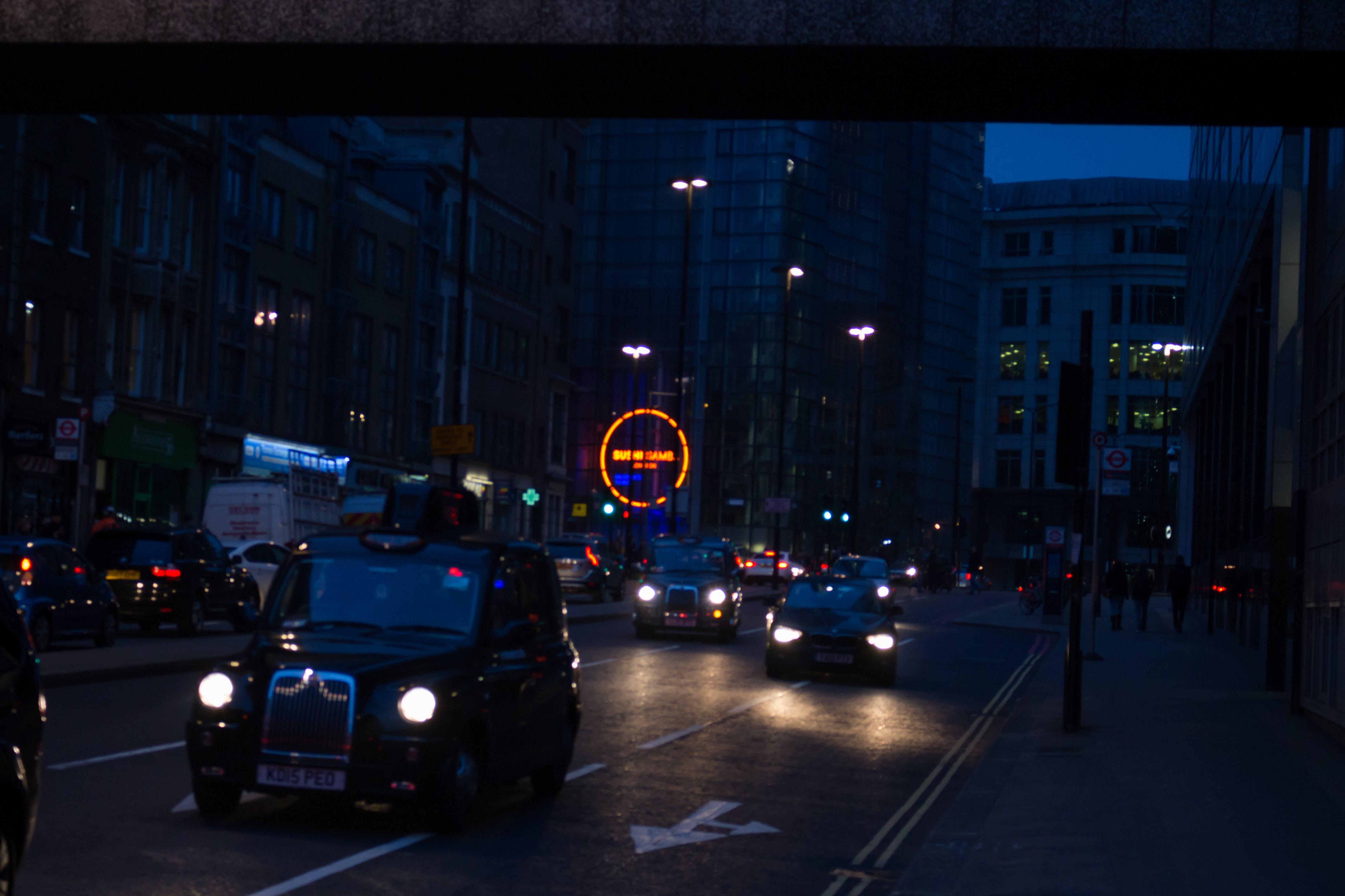 城市, 市容, 建築, 晚上 的 免費圖庫相片