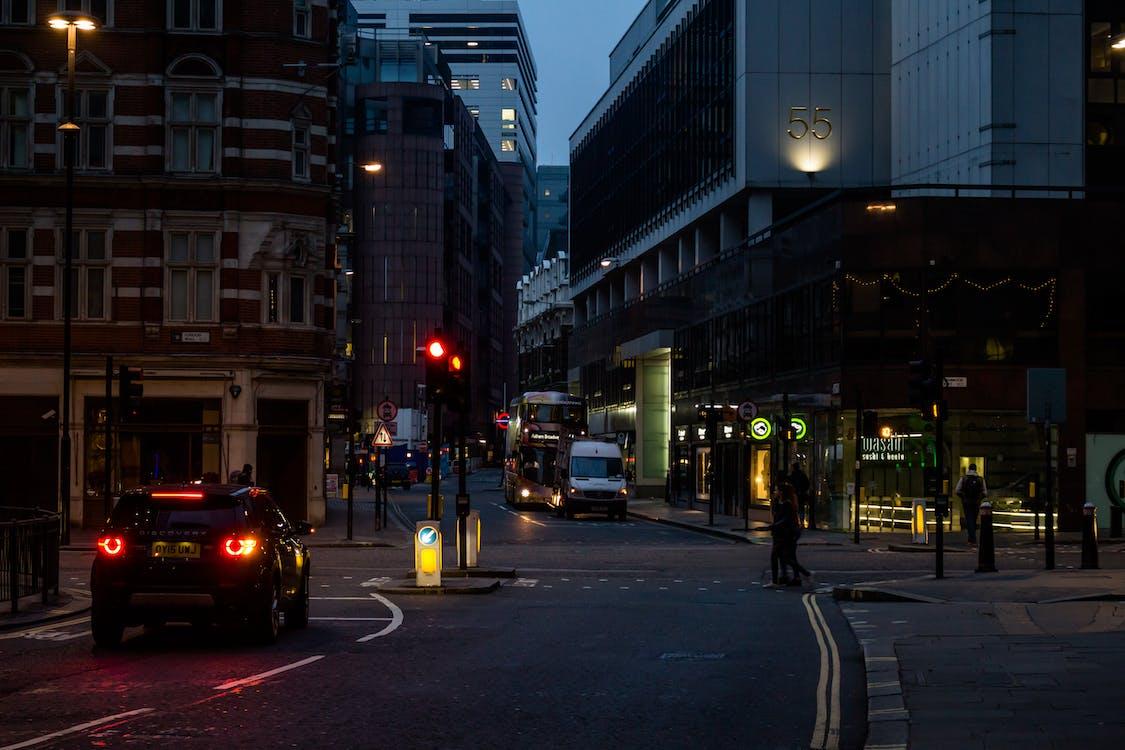 aften, arkitektur, asfalt