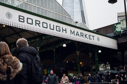People on Borough Market