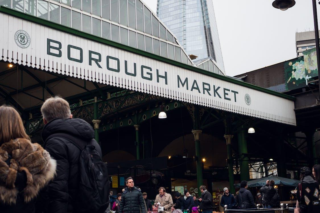 People on Borough Market