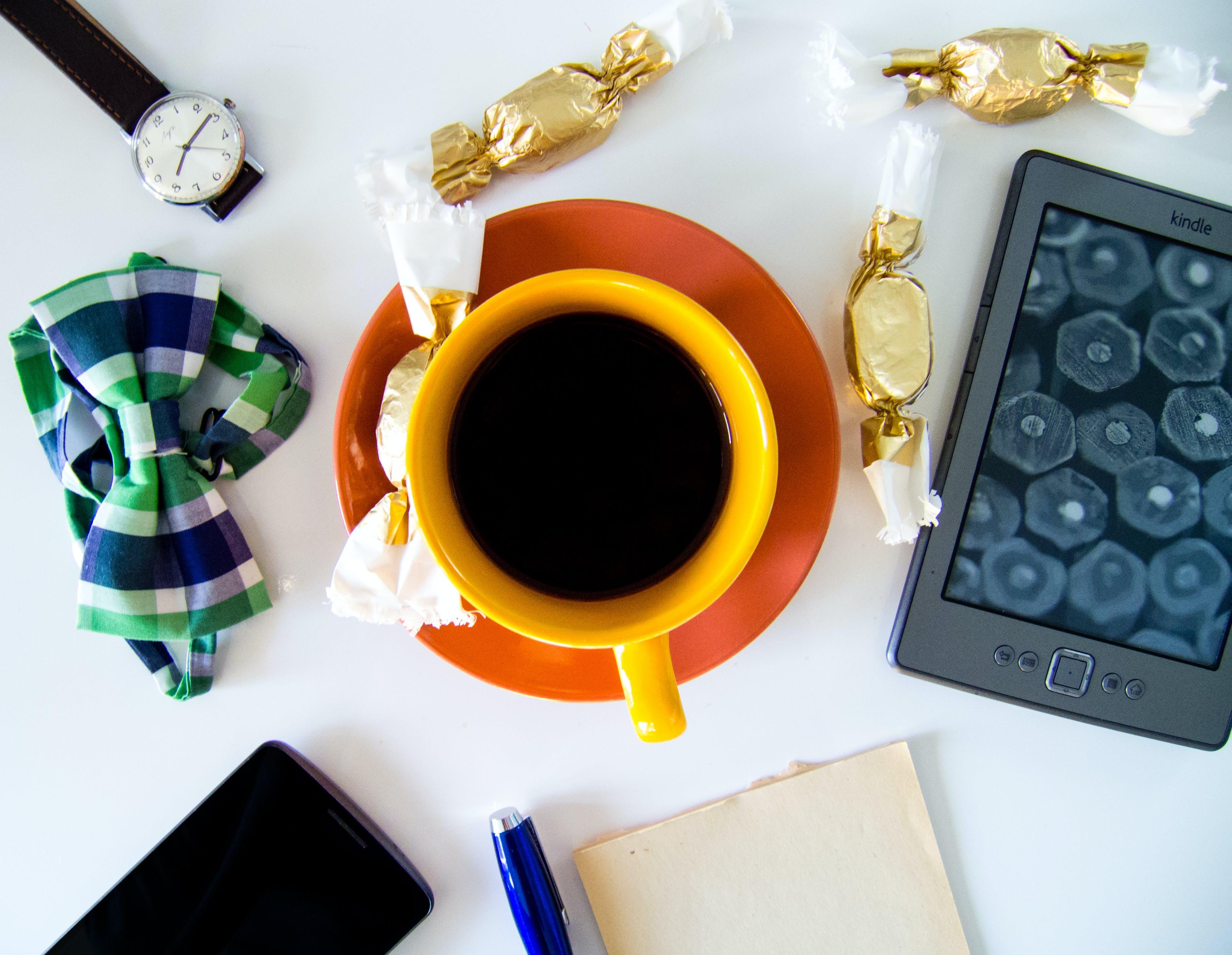 Free stock photo of bow tie, art, creative, smartphone