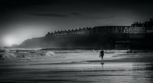 Ilmainen kuvapankkikuva tunnisteilla hiekkaranta, Yksin, yksinäinen