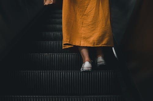 女人, 室內, 往上走, 時尚 的 免费素材照片