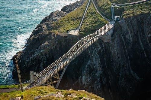 Foto profissional grátis de água, cruzar a ponte, destino de viagem, destinos de viagem