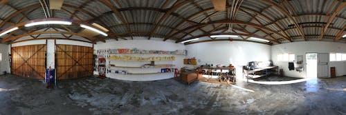 360도, 빈 차고, 파노라마의 무료 스톡 사진