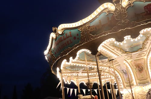 Free stock photo of amusement park, autumn, beautiful, carousel