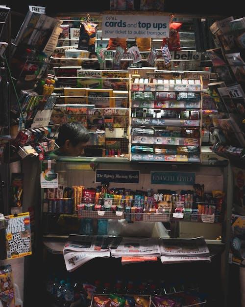 Darmowe zdjęcie z galerii z budka, handel, księgarnia, sklep