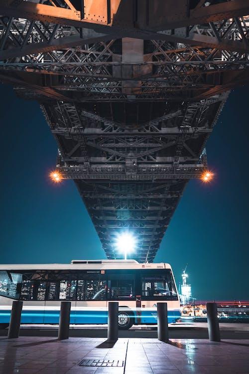 Bus Under A Bridge