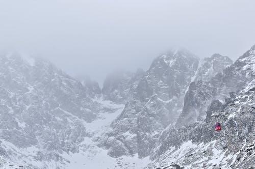 Free stock photo of cabin, mountain, winter